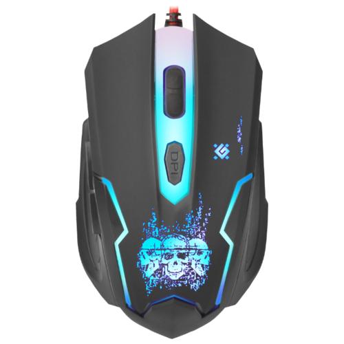 Мышь Defender Skull GM-180L Black USB фото 1