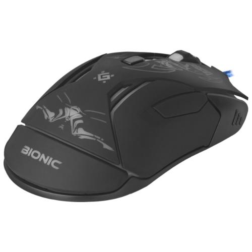 Мышь Defender Bionic GM-250L Black USB фото 10