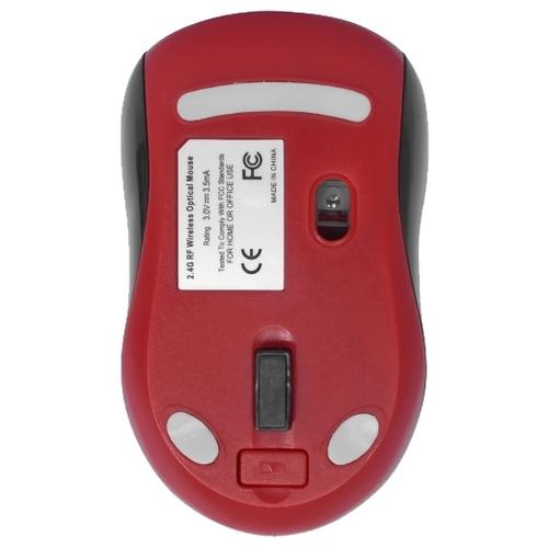 Мышь Defender Dacota MS-155 Nano Black-Red USB фото 2