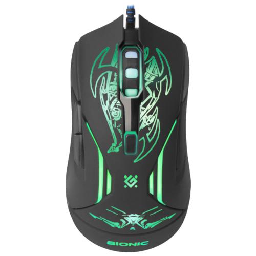 Мышь Defender Bionic GM-250L Black USB фото 3