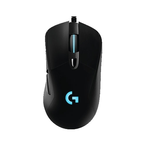 Мышь Logitech G G403 Prodigy wired Black USB фото 2