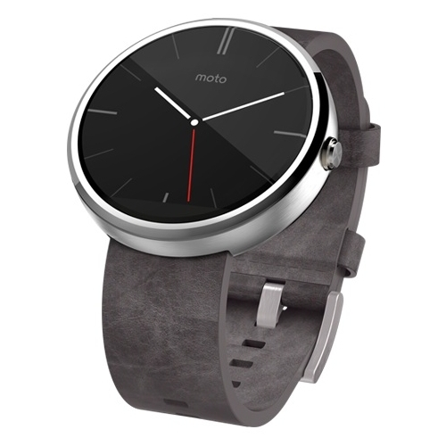 Часы Motorola Moto 360 (leather) фото 3