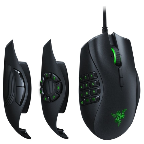 Мышь Razer Naga Trinity Black USB фото 5