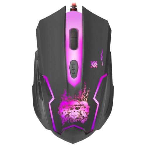 Мышь Defender Skull GM-180L Black USB фото 3