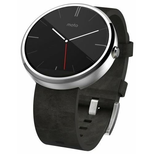Часы Motorola Moto 360 (leather) фото 1