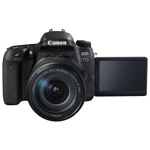 Фотоаппарат Canon EOS 77D Kit фото 9