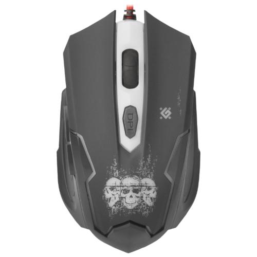 Мышь Defender Skull GM-180L Black USB фото 5