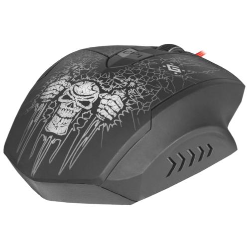 Мышь Defender Skull GM-180L Black USB фото 12