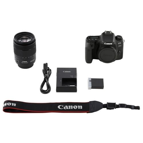 Фотоаппарат Canon EOS 77D Kit фото 10