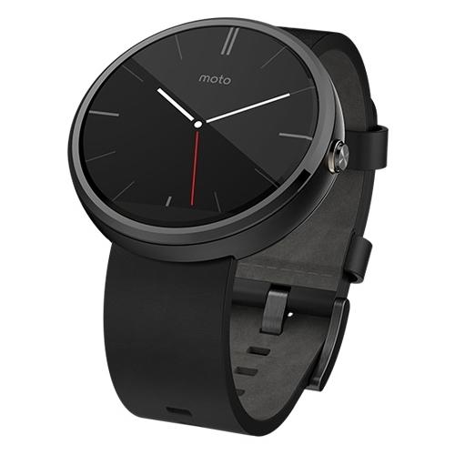 Часы Motorola Moto 360 (leather) фото 2