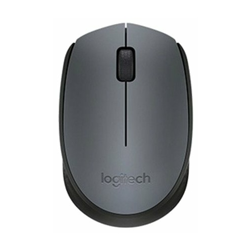 Мышь Logitech M170 Wireless Mouse Black-Grey USB фото 1