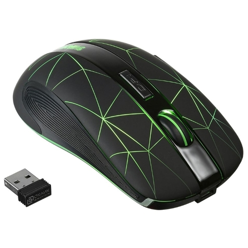 Мышь OKLICK 975GW SWAMP Black USB фото 2