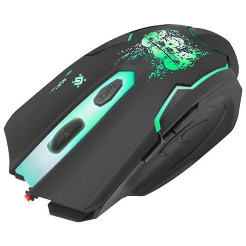 Мышь Defender Skull GM-180L Black USB фото 9