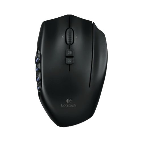 Мышь Logitech G600 MMO Gaming Mouse Black USB фото 5