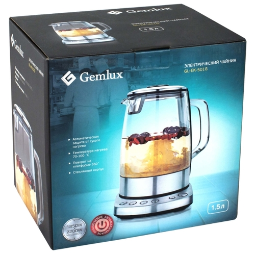 Чайник Gemlux GL-EK-501G фото 5