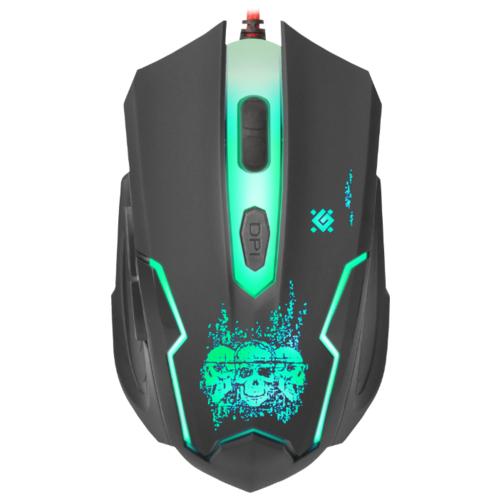Мышь Defender Skull GM-180L Black USB фото 4