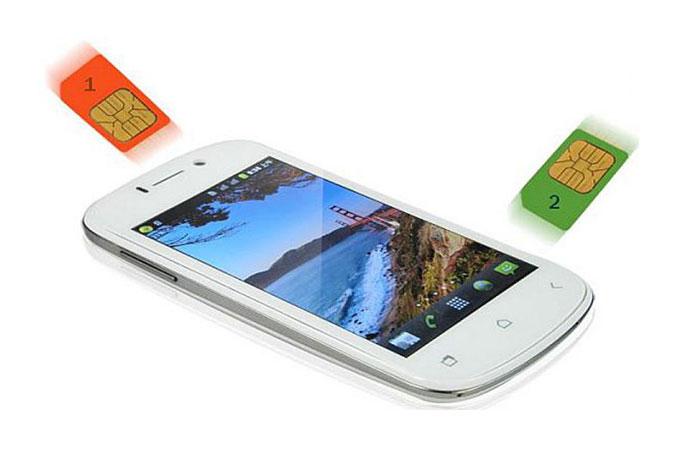 мобильные телефоны 2 симки