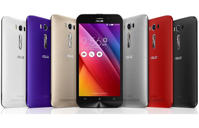недорогие сенсорные телефоны на 2 симки ASUS Zenfone 2 Laser ZE500KL