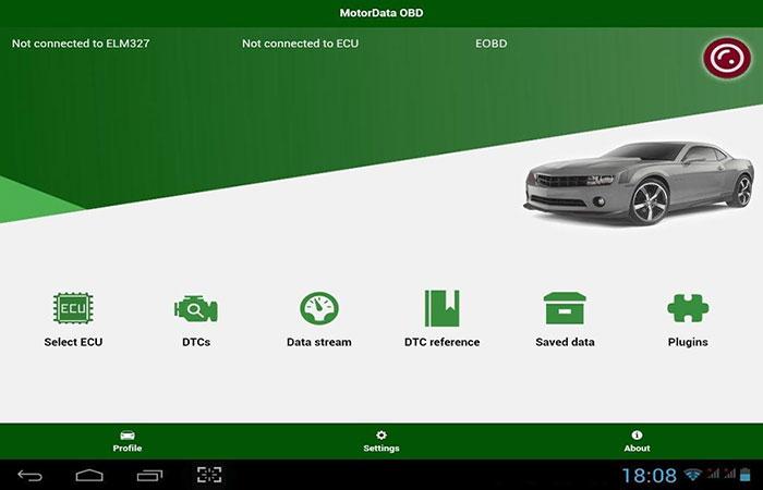 хорошая программа для диагностики автомобилей Motordata OBD | apptoday.ru