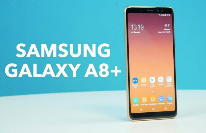 samsung galaxy a8 plus характеристики