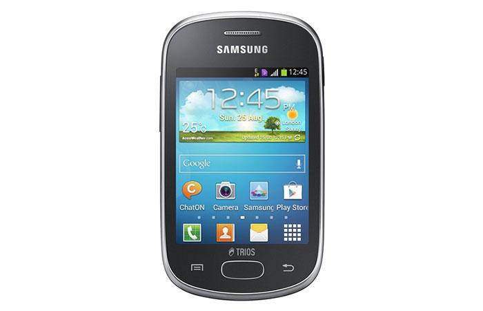 смартфон с 3 сим-картами Samsung Galaxy Star Trios
