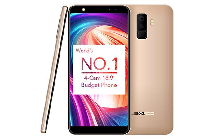 топ лучших смартфонов до 5000 рублей Leagoo M9